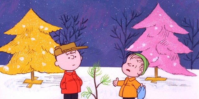 "Charlie Brown and Linus in scene from tv special ""A Charlie Brown Christmas"", photo (AP)"