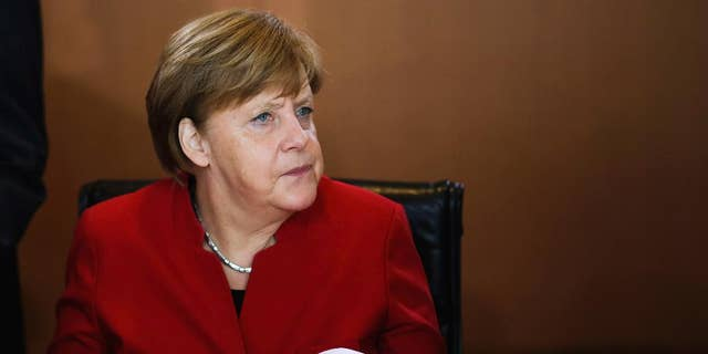 German Chancellor Angela Merkel in May.