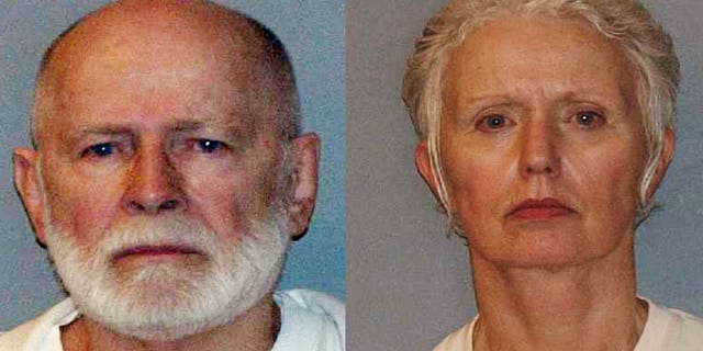 """June 23: James """"Whitey"""" Bulger (left), one of the FBI's Ten Most Wanted fugitives, was captured in June in Santa Monica, California, after 16 years on the run. He is accused of participating in 19 murders. Catherine Greig, the longtime girlfriend of Bulger, was apprehended and charged with harboring a fugitive."""