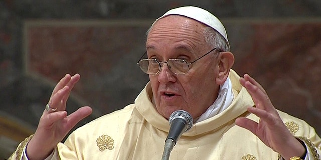 Newly elected Pope Francis I, Cardinal Jorge Mario Bergoglio of Argentina, is seen as a humble man who advocates the church's values with compassion.