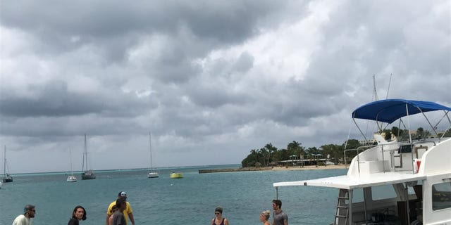 Caribbean Sea Adventures from nearby Saint Croix packs supplies and aid on its ships to take to Saint John island.