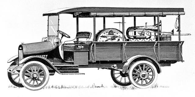 1918 Chevrolet Model T One-Ton Commercial Truck