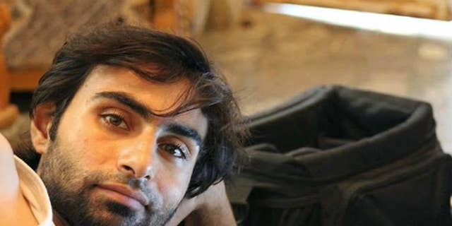 An undated photo shows photojournalist and media activist Murhaf al-Modhi, known by the pseudonym of Abo Shuja in Syria's northern town on Deir Ezzor.