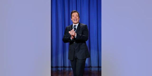 """April 4, 2013. Jimmy Fallon, host of """"Late Night with Jimmy Fallon,"""" in New York.  Fallon will debut as host of his new show, """"The Tonight Show with Jimmy Fallon,"""" on Feb. 17."""
