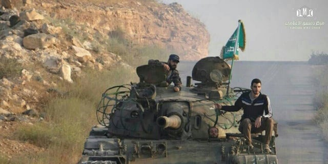 Opposition forces relocating across the Southern Plains of Daraa Syria this week, amid the ongoing ceasefire agreement.
