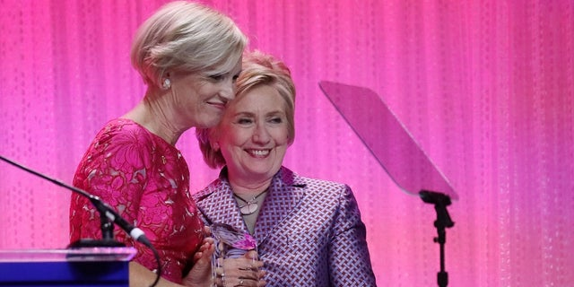 Cecile Richards with 2016 Democratic presidential candidate Hillary Clinton.