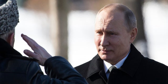 Russian President Vladimir Putin seen here on February 23, 2018.