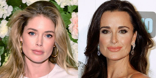 Doutzen Kroes and Kyle Richards, among others, shared the image on their own Instagram accounts, condemning the hunter.
