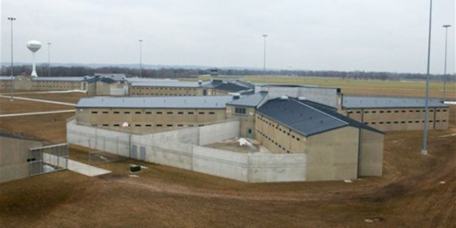 A cell house at Thomson Correctional Center is seen from one of the guard towers at the facility north of Thomson. (AP)
