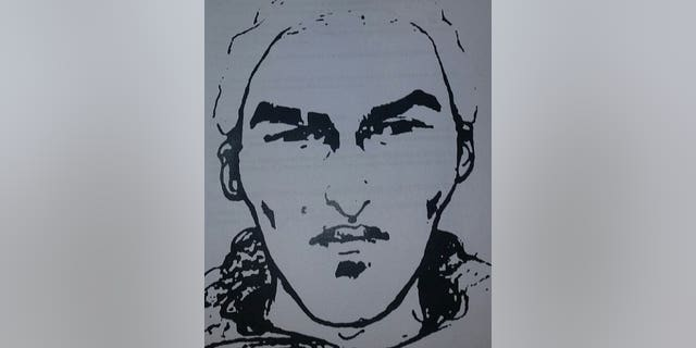 A Belgian police sketch of the possible second Metro bomber is being shown on local TV stations.