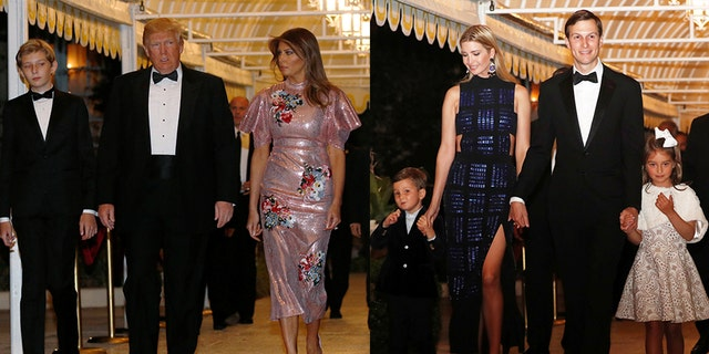 Both women dazzled in glittering looks on New Year's Eve, December 31, 2017.