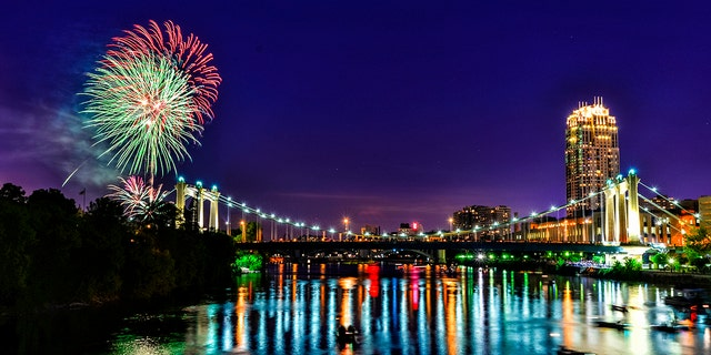 The state's largest display can be found at the Red, White, and Boom festival.