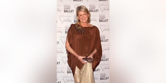 TV personality Martha Stewart.