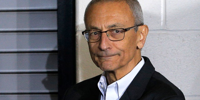 FILE: John Podesta was the former chair of Hillary Clinton's presidential campaign.