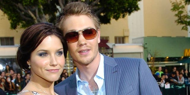 Sophia Bush, left, was married to Chad Michael Murray, right, for five months in 2005.