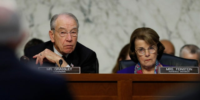 Senators Grassley and Feinstein are both 85 years old, yet Rosie O'Donnell is troubled only by Grassley's age.