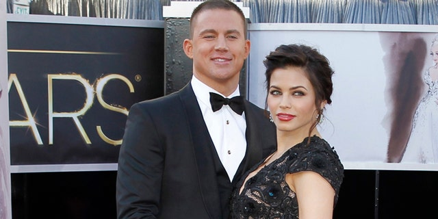 The former couple at the 85h annual Academy Awards in Los Angeles.