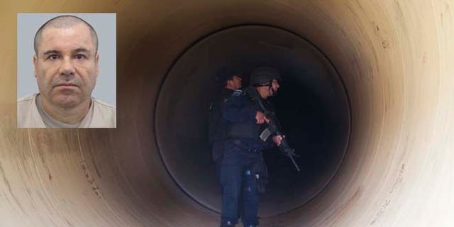 El Chapo repeatedly escaped from Mexican prisons, once through an elaborate tunnel.