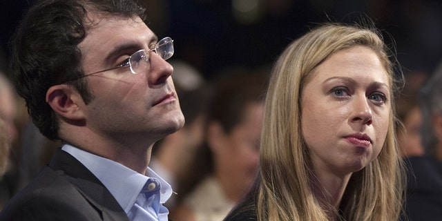 Chelsea Clinton and Marc Mezvinsky married in 2010.
