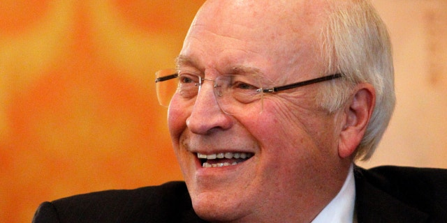 Former Vice President Dick Cheney is seen at the Little America Hotel and Resort in Cheyenne, Wyo., Dec. 13, 2013. (Associated Press)
