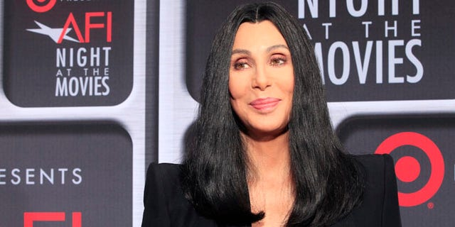 April 24, 2013. Actress Cher arrives at Target Presents AFI Night at the Movies in Hollywood.