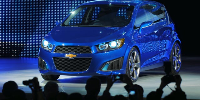 """Latin America's independent New Car Assessment Program recently assigned the Aveo zero stars in a crash test, calling the vehicle """"unstable"""" with """"a high risk of life threatening injuries."""" (Photo by Tom Hawley/Chevrolet via Getty Images)"""