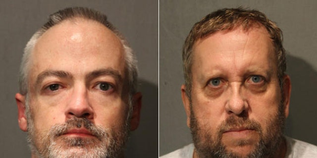 Wyndham Lathem, left, and Andrew Warren were arrested in connection with the killing of a hairstylist.