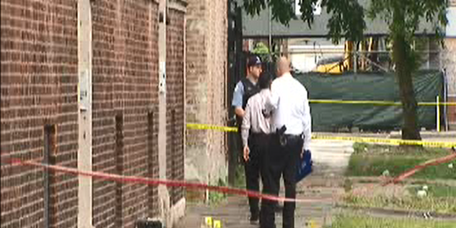 At least 25 people were shot within 2 and a half hours on Sunday.