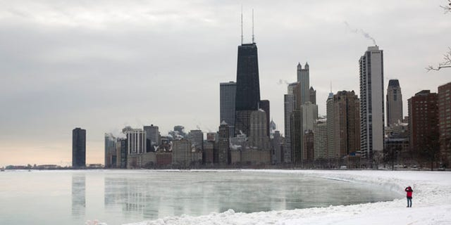 Jan. 7, 2014: Shown here is the Chicago skyline.
