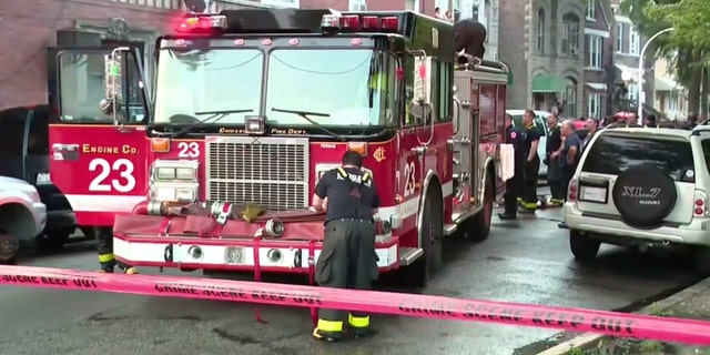 A fire broke out in an apartment early Sunday in Chicago, killing at least eight people, officials said.