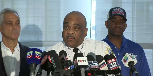 """Chicago Police Superintendent Eddie Johnson said that the city's communities need to """"step up"""" to combat ongoing violence."""