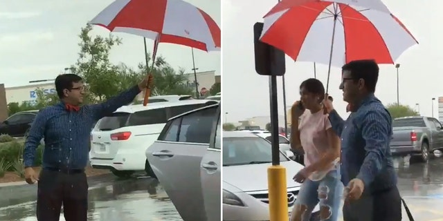 A Chick-fil-A employee has gone viral for his act of kindness.