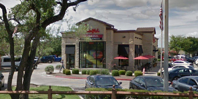 """Harris' manager at the Chick-fil-A in Austin's Southpark Meadows says he's """"always searching for ways to be better, not only for himself, but also for the store."""""""