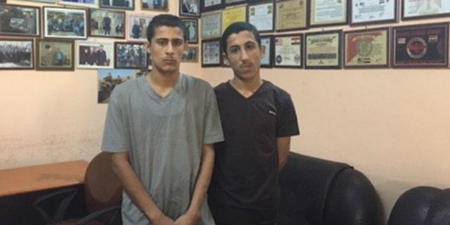 Both boys recited their pledge of allegiance to ISIS leader Abu Bakr al-Baghdadi.