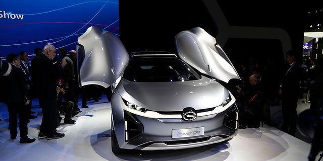 The GAC En Verge is an electric car that the company says was tailor-made for the USA.