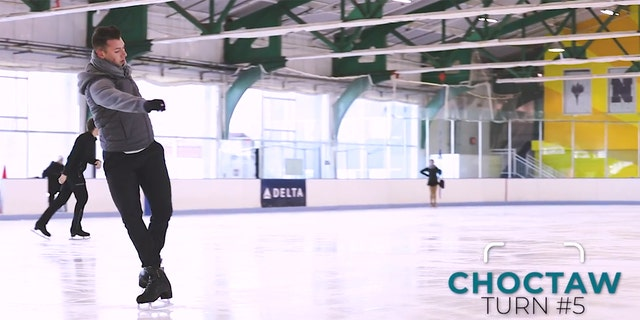 Olympic figure skater Line Haddad explains some of the difficult moves we're seeing at the 2018 Games.