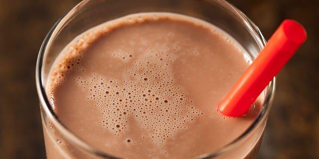 Chocolate milk. (iStock)