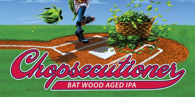 """Terrapin's Chopsecutioner was named for Braves fans and their penchant for doing the """"Tomahawk Chop"""" during games."""
