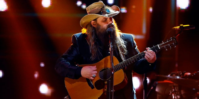 Chris Stapleton is nominated for best country album.
