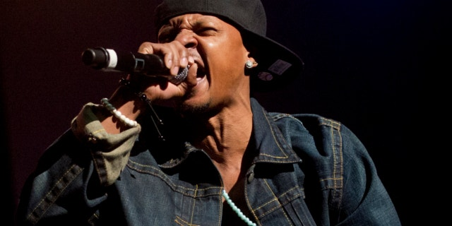 Feb. 23, 2013: Chris Kelly of Kris Kross performs on stage at the Fox Theatre in Atlanta during the So So Def 20th Anniversary Concert.