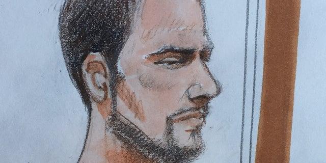 Brendt Allen Christensen in court.