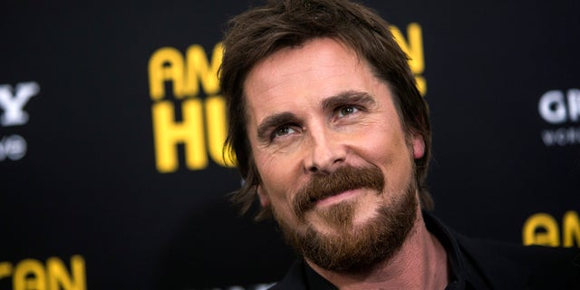 Actor Christian Bale attends the 'American Hustle' premiere in New York December 8, 2013. REUTERS/Eric Thayer (UNITED STATES - Tags: ENTERTAINMENT HEADSHOT) - RTX16AGH