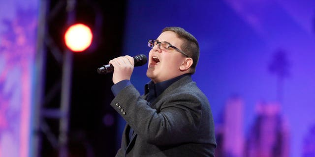 """Christian Guardino performs on """"America's Got Talent,"""" shocking the judges and crowd alike."""