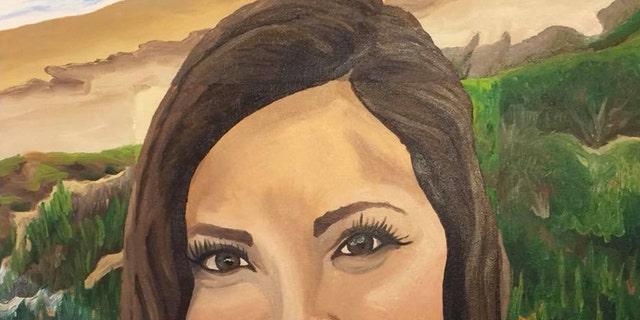 Christiana Duarte of Torrance, Calif., painted by Kortney Goodman Struempf of Marietta, Ga.