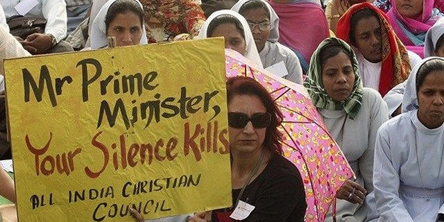 Christians in India want the government to speak out against religious persecution. (Reuters)