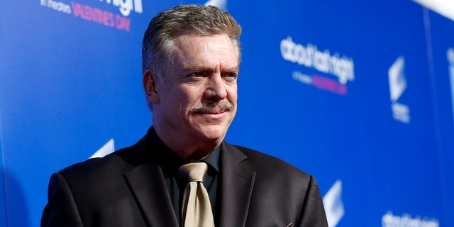 """Cast member Christopher McDonald poses at the premiere of """"About Last Night"""" at the Cinerama Dome in Los Angeles, California February 11, 2014. The movie opens in the U.S. on February 14.   REUTERS/Mario Anzuoni  (UNITED STATES - Tags: ENTERTAINMENT) - GM1EA2C12KG01"""