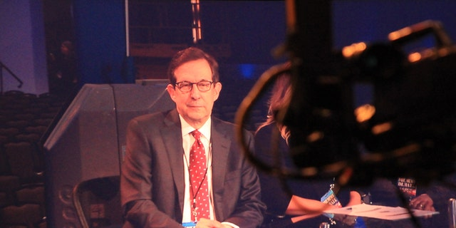 """""""Fox News Sunday"""" host Chris Wallace moderated a presidential debate in 2016."""