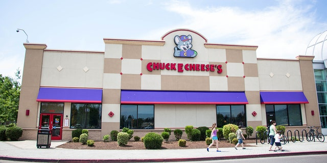 Two women were recorded trading blows in an Indianapolis Chuck E. Cheese over an unknown cause. No police report was filed.
