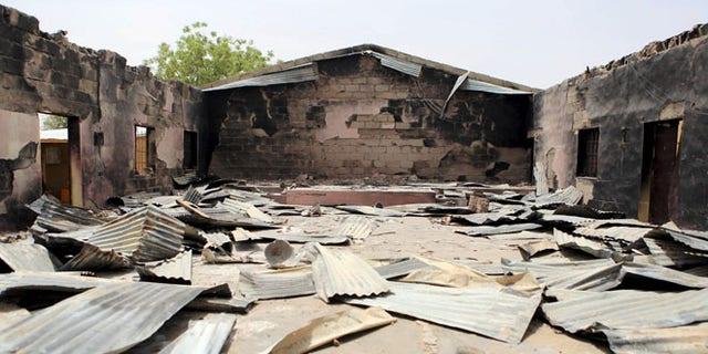 This church in Damasak, Nigeria, was destroyed by Muslim terrorists in March of last year.