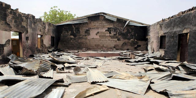 This church in Damasak, Nigeria, was destroyed by Muslim terrorists in March of last year.